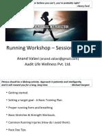 Aadit Life - Running Workshop