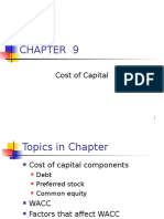 Ch. 9 -13ed Cost of CapitalMaster