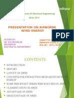 seminar report on air borne wind energy