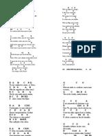 Hinário Novo Cântico - Cifrado2