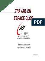Formation Espace Clos 12-2006