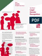 legal gender recognition factsheet