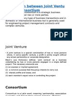 Distinction between Joint Venture and.pptx