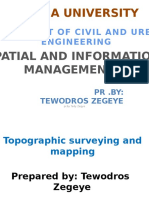 Topographic Surveying and Mapping