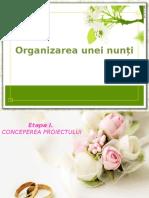 Organizarea Unei Nunti