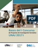 Bases I Concurso de Proyectos de Investigación Formativa UNAJ 2017