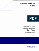 TP3942202 S80 1999 Late Version Wiring Diagrams