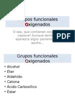 q2 2012 Grupos Funcionales Oxigenados