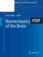 Biomechanics of the Brain - K. Mikker
