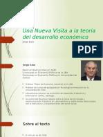Una Nueva Visita a La Teoría Del Desarrollo