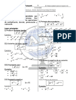 1er Cuadernillo de Algebra 2001 (Set-Dic)