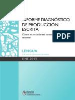 Informe Diagnostico Lengua