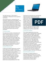 Dell Precision 17 7000 7710 Series Spec Sheet