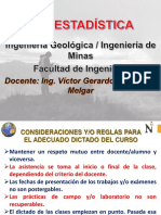 Semana 01 - i Geoestadística