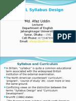 Syllabus Design 1