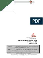 Memoria Descriptiva j.v. Pacheco Cespedes
