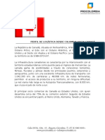 Perfil Logistico de Canada