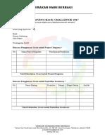 Formulir Rencana Penggunaan Grant GBC 2017