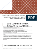 The Luistanian-Hispanic Rivalry in Maritime Discoveries & The
