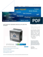 Detonation Sensing Module Filter P_n e740401 by Waukesha Repair at Synchronics Electronics Pvt