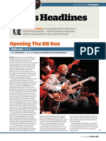 BB King technique from Guitarist - January 2014 UK