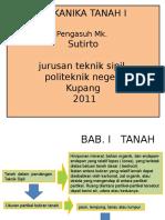 MK-Mekanika Tanah 1.ppt