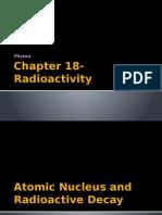 chapter 18- radioactivity