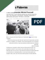 Para Compreender Michel Foucault