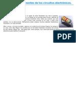 Unidad 4 Componentes de Los Circuitos Electronicos