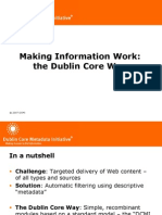 Dublin Core overview 2007
