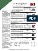5.14.17 Minor League Report