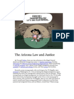 The Arizona Law and Justice