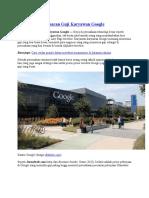 Top 10 Daftar Besaran Gaji Karyawan Google