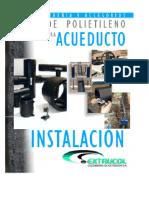 Manual de Instalacion de Tuberias Linea Acueducto y Proyectos Especiales