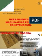 Herramientas y Equipos Para La Construccion