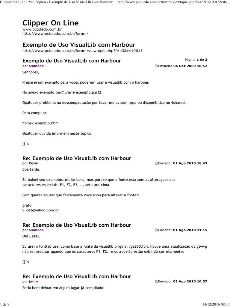 _Exemplo de Uso VisualLib com Harbour pdf