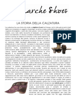 La Storia Della Calzatura