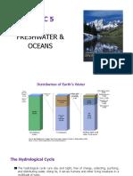 Topic 5 Freshwater Ocean