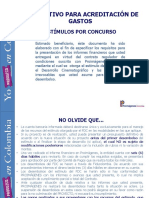 Instructivo Acreditacion Gastos Concurso Fdc2015