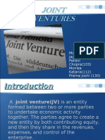 Joint Venture Final PPT