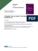 Cynnane the Illyrian