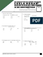 Examen de Aritmética
