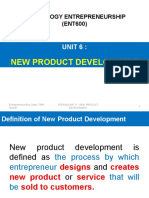 Unit 6 (New Product Development)