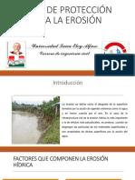 Obras de Proteccion Contra La Erosion