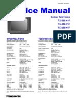 Panasonic TX-25lk1f 28lk1f 28sk1f Chassis z8