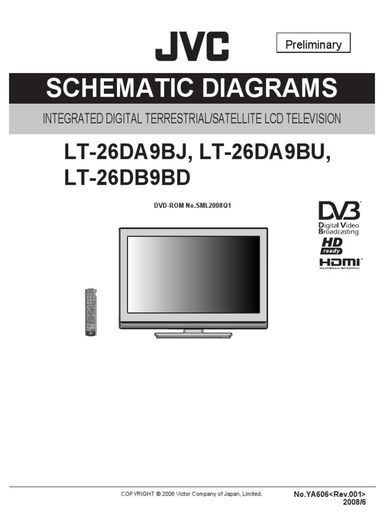 [SCHEMATICS_48IS]  Jvc Lt-26da9bj Bu 26db9bd (Sch) | Capacitor | Electronic Circuits | Jvc K Series Circuit Diagram |  | Scribd