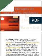 Les Mirages Et Les Fibres Optiques