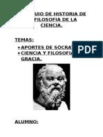 Coloquio de Historia de La Filosofia de La Ciencia
