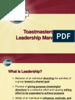 Leadership Manuals