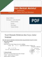 Meramalkan Bentuk Molekul - POWER POINT KIMIA